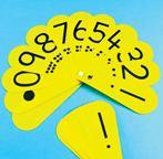 Detský PVC zábavný číselník s desatinnou čiarkou (10ks) - M-CFANBB