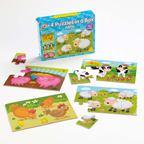 Sada 4 puzzle - Farma - EY05157BB