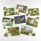 Puzzle farmárske zvieratá - EY04329BB