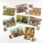 Puzzle divé zvieratá 1 - EY04330BB