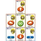 Bee Bot sekvenčné karty - ITSCARDBB