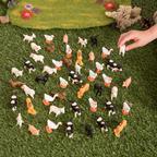 Gumené farmárske zvieratá - FMINIFBB