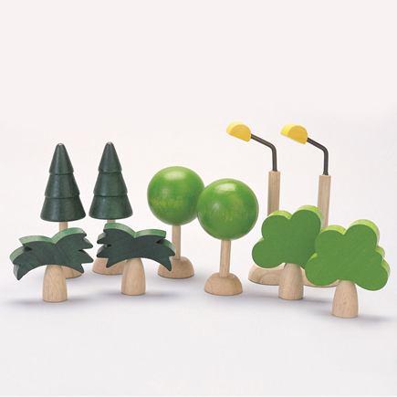 Stromy a pouličné osvetlenie (Bee-Bot doplnky) - FTSBB