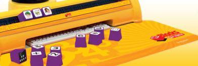 E-Blocks - panel učiaceho stroja