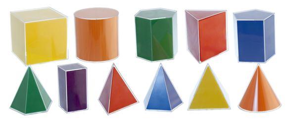 Geometrické útvary (11ks) - 95271M