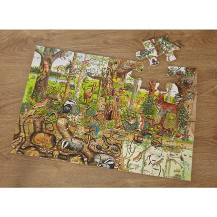 Puzzle lesná zver - EY04325BB