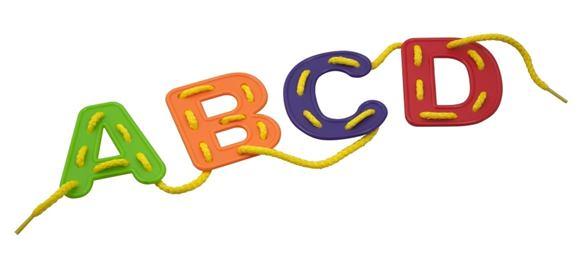 Vyšívaná abeceda - školský set - 95267M