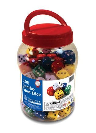 JUMBO hracie kocky (100ks) - IN053259S