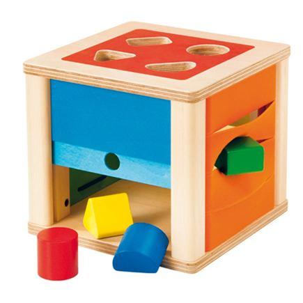 Drevený triediaci box - EY03577BB